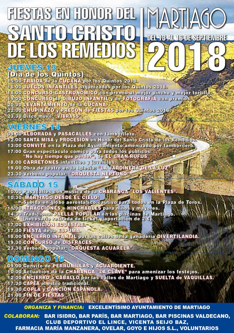 FIESTAS MARTIAGO 2018