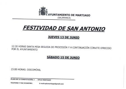 Festividad San Antonio