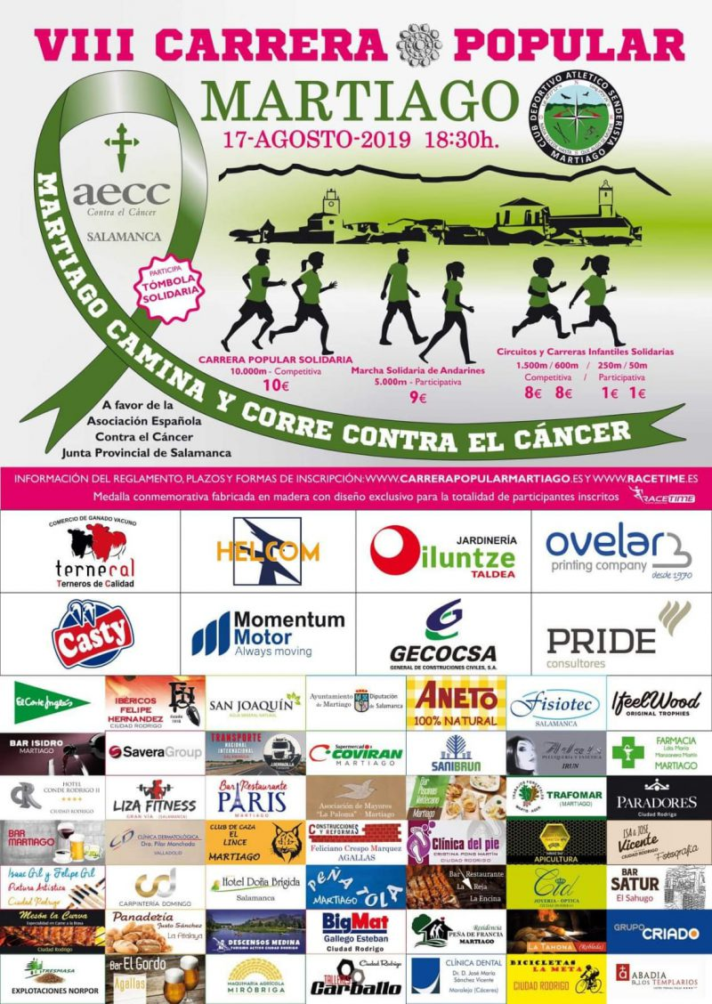 VIII Carrera Popular Martiago