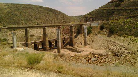 Comunicación sobre obras del puente del Risco de Martiago