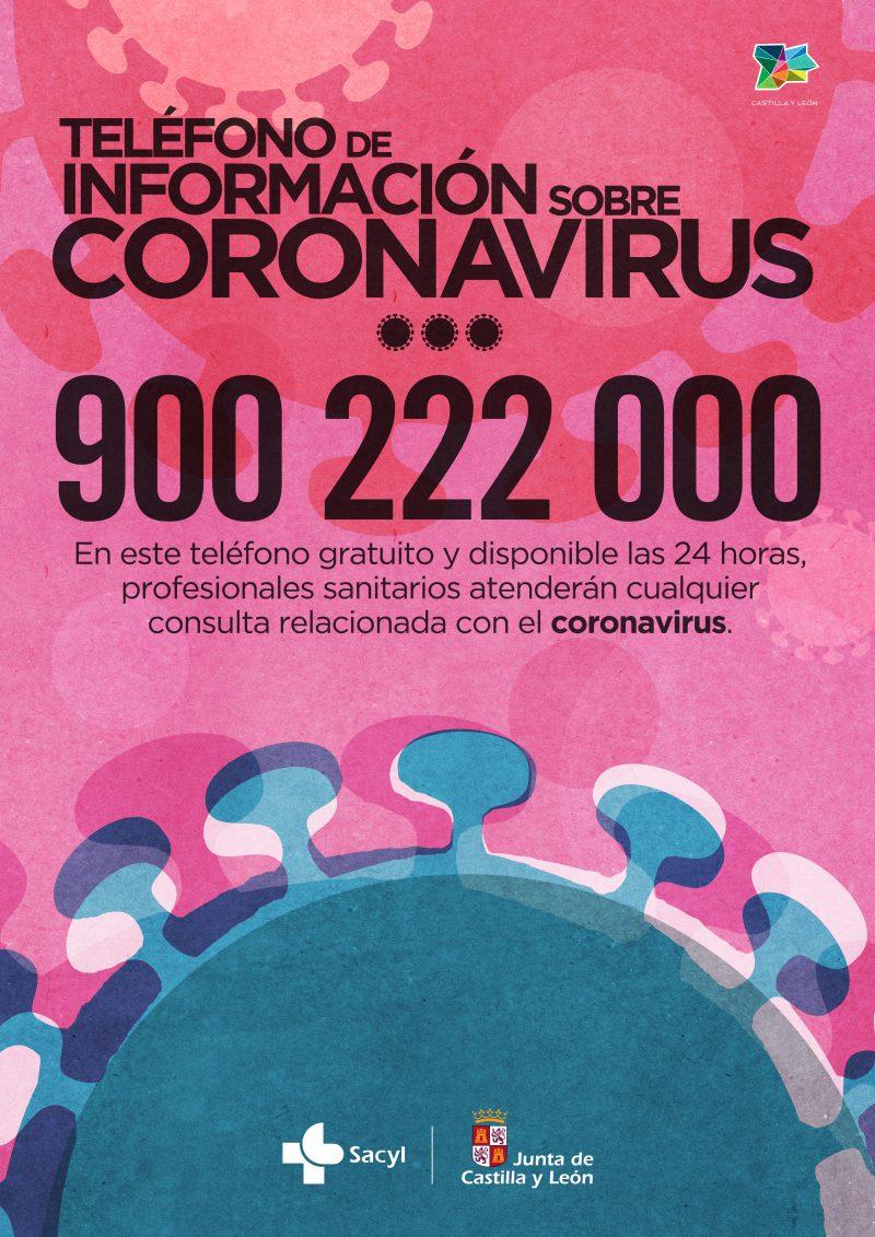 Teléfono de atención Coronavirus