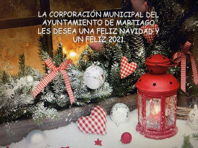 Feliz Navidad y Feliz 2021